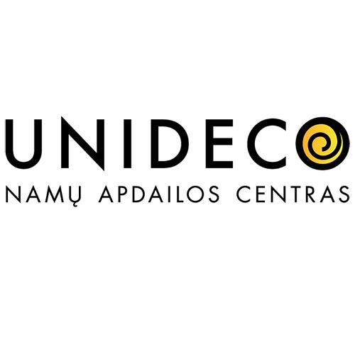 Įmonės Apdailos prekių prekybos centras UNIDECO (ŠKLĖRIAI, UAB) logotipas