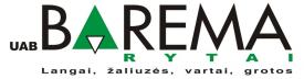 Įmonės Barema rytai, UAB logotipas