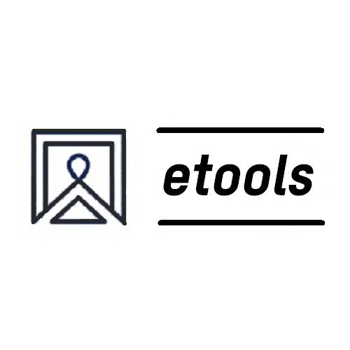Įmonės Akumuliatoriniai įrankiai internetu - etools.lt logotipas