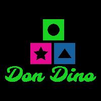 Įmonės DonDino.lt logotipas
