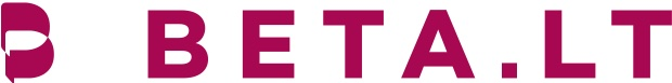 Įmonės beta.lt logotipas